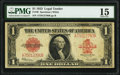 Large Size:Legal Tender Notes, Fr. 40 $1 1923 Legal Tender PMG Choice Fine 15.. ...
