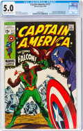 Silver Age (1956-1969):Superhero, Captain America #117 (Marvel, 1969) CGC VG/FN 5.0 Off-white to white pages....
