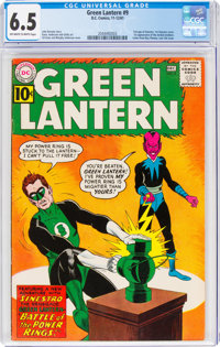 Green Lantern #9 (DC, 1961) CGC FN+ 6.5 Off-white to white pages