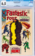 Silver Age (1956-1969):Superhero, Fantastic Four #67 (Marvel, 1967) CGC FN+ 6.5 White pages....