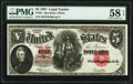 Fr. 91 $5 1907 Legal Tender PMG Choice About Unc 58 EPQ