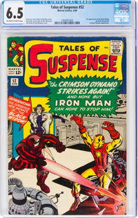 Tales of Suspense #52 (Marvel, 1964) CGC FN+ 6.5 Off-white to white pages