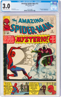 The Amazing Spider-Man #13 (Marvel, 1964) CGC GD/VG 3.0 Off-white to white pages