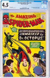 The Amazing Spider-Man #12 (Marvel, 1964) CGC VG+ 4.5 Off-white pages