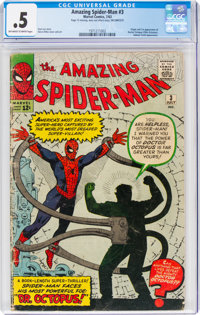 The Amazing Spider-Man #3 Incomplete (Marvel, 1963) CGC PR 0.5 Off-white to white pages