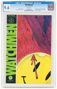 Watchmen #1 (DC, 1986) CGC NM+ 9.6 White pages