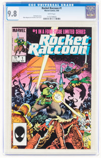 Rocket Raccoon #1 (Marvel, 1985) CGC NM/MT 9.8 White pages