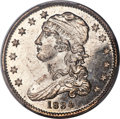 1834 25C O Over F in OF, B-1, FS-901, R.1, MS65+ Prooflike PCGS. CAC....(PCGS# 38992)