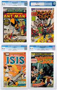 Marvel/DC Silver and Bronze Age Comics CGC-Graded Group of 5 (Marvel/DC, 1968-77).... (Total: 5 Comic Books)