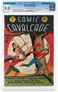 Golden Age (1938-1955):Superhero, Comic Cavalcade #7 Rockford Pedigree (DC, 1944) CGC VF/NM 9.0 Off-white to white pages....