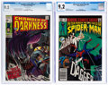 Modern Age (1980-Present):Superhero, Spectacular Spider-Man #64/Chamber of Darkness #1 CGC-Graded Group (Marvel, 1969-82) Condition: NM- 9.2.... (Total: 2 Comic Books)