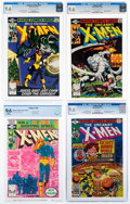 Modern Age (1980-Present):Superhero, X-Men CGC-Graded Group of 4 (Marvel, 1979-81) CGC NM+ 9.6.... (Total: 4 Comic Books)
