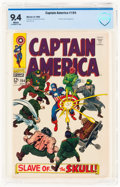 Silver Age (1956-1969):Superhero, Captain America #104 (Marvel, 1968) CBCS NM 9.4 White pages....