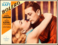 "Movie Posters:Drama, Bolero (Paramount, 1934). Very Fine. Lobby Card (11"" X 14"").. ..."