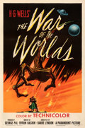 Movie Posters:Science Fiction, The War of the Worlds (Paramount, 1953). Very Fine on Line...