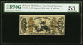 Fractional Currency:Third Issue, Fr. 1350 50¢ Third Issue Justice PMG About Uncirculated 55.. ...