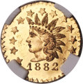 1882 25C Indian Round 25 Cents, BG-892, High R.7, MS65 NGC....(PCGS# 10753)