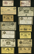 Eric Newman Collection New York Obsoletes. Twenty-Four Examples. Very Good or Better. ... (Total: 24 notes)