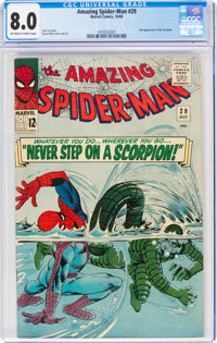 The Amazing Spider-Man #29 (Marvel, 1965) CGC VF 8.0 Off-white to white pages