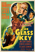 Movie Posters:Film Noir, The Glass Key (Paramount, 1942). Very Fine- on Linen.