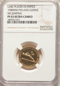 Poland, Poland: People's Republic gold Proof 2000 Zlotych 1980-MW PR63 Ultra Cameo NGC,...