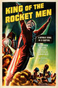 Movie Posters:Serial, King of the Rocket Men (Republic, R-1956). Very Fine+ on L...