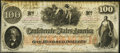 Confederate Notes:1862 Issues, T41 $100 1862 PF-20 Cr. 316A Advertising Note Very Fine.. ...
