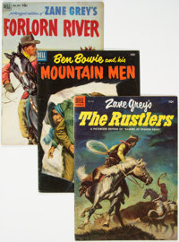 Four Color Group of 22 (Dell, 1952-62) Condition: Average VG.... (Total: 22 Comic Books)