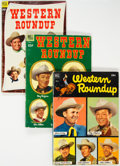 Golden Age (1938-1955):Humor, Dell Giant Comics: Western Roundup #1-9 Group (Dell, 1952-55) Condition: Average VG+.... (Total: 9 Comic Books)