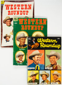 Dell Giant Comics: Western Roundup #1-9 Group (Dell, 1952-55) Condition: Average VG+.... (Total: 9 Comic Books)