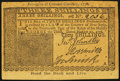 Colonial Notes:Mixed Colonies, Facsimile New Jersey March 25, 1776 3s Advertising Note About New.. ...