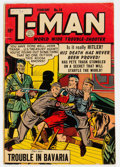 Golden Age (1938-1955):Crime, T-Man #14 (Quality, 1954) Condition: VG+....
