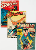Golden Age (1938-1955):Miscellaneous, Golden Age Comics Group of 8 (Various Publishers, 1950s) Condition: Average VG.... (Total: 8 )