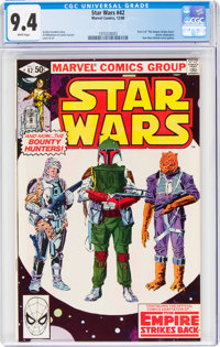 Star Wars #42 (Marvel, 1980) CGC NM 9.4 White pages