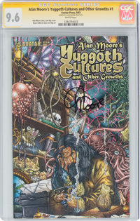 Alan Moore's Yuggoth Cultures and Other Growths #1 Signature Series: Alan Moore (Avatar Press, 2003) CGC NM+ 9.6 White p...
