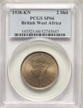 British West Africa: British Colony. George VI Specimen 2 Shillings 1938-KN SP66 PCGS