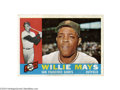 Baseball Cards:Singles (1960-1969), 1960 TOPPS WILLIE MAYS #200....