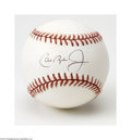 Autographs:Baseballs, Cal Ripken, Jr. Single Signed Baseball....