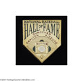 Baseball Cards:Singles (1930-1939), 1994 Hall of Fame Induction Press Pin from Ralph Kiner Estate....