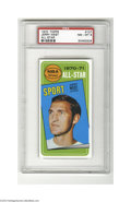 Basketball Cards:Singles (1970-1979), Basketball 1970 Topps Jerry West #160 PSA NM-MT 8....