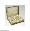 Silver Flatware, Continental:Flatware, H. Wurm: A CONTINENTAL SILVER ART DECO BOXED SERVING SET (H. ...(11 Items)