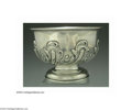 Silver & Vertu:Hollowware, A GEORGE II STYLE ENGLISH SILVER BOWL. Marked Charles Stuart Harris, London, 1904-5. The body with chased rococo decoratio...