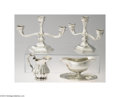 Silver Holloware, Continental:Holloware, A GROUP OF FOUR CONTINENTAL SILVER OBJECTS