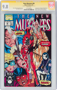The New Mutants #98 Signature Series: Stan Lee and Rob Liefeld (Marvel, 1991) CGC NM/MT 9.8 White pages