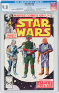 Modern Age (1980-Present):Science Fiction, Star Wars #42 (Marvel, 1980) CGC NM/MT 9.8 White pages....