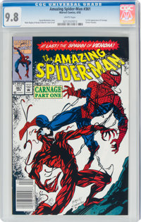 The Amazing Spider-Man #361 (Marvel, 1992) CGC NM/MT 9.8 White pages
