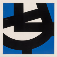 Pierre Clerk (b. 1928) Untitled, 1976 Screenprint in colors on paper 38 x 38 inches (96.5 x 96.5