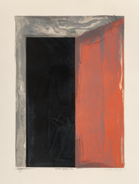 Laddie John Dill (b. 1943) Portal #2, 1977 Lithograph in colors on paper 34-1/4 x 26 inches (87 x
