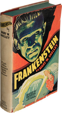 Mary W. Shelley. Frankenstein. Or, the Modern Prometheus. New York: Grosset & Dunlap, [1931]. First photoplay ed