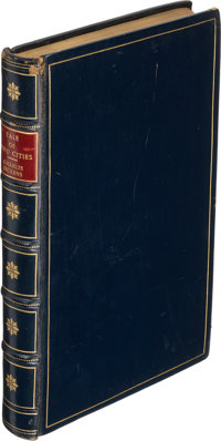 Charles Dickens. A Tale of Two Cities. London: Chapman and Hall, 1859. First edition, with all
